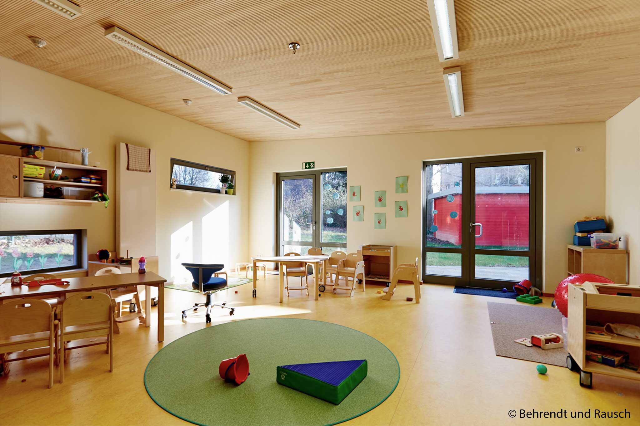 Kindergarten Maximilian Kolbe, Gruppenraum Erweiterung Nord